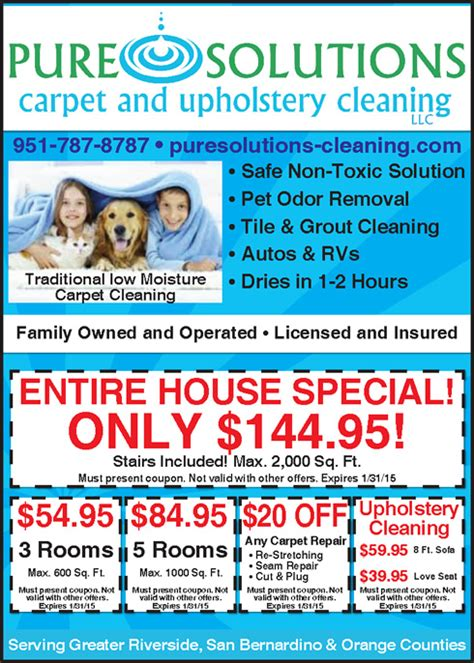 upholstery cleaning specials carpet cleaning specials riverside ca