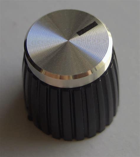 Marshall Knobs by Marshall Knob Black Silver On Shiny Tops