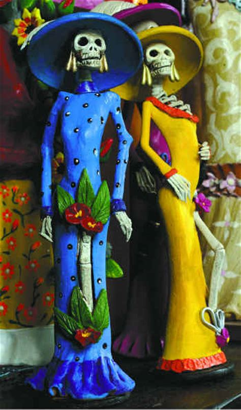 imagenes de calaveras catrinas catrinas una tradici 243 n mexicana la polaka del nopal
