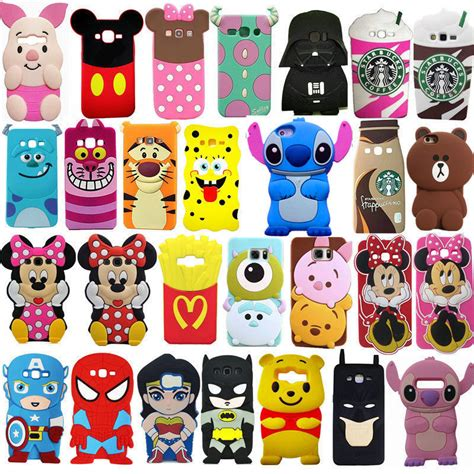 Samsung Galaxy J7 2017 Minion 3d Silikon Rubber Silicon Gal J 7 t 3d soft silicone phone back cover skin for samsung galaxy phones ebay