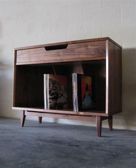 Record Storage Cabinet Walnut Record Storage Cabinet