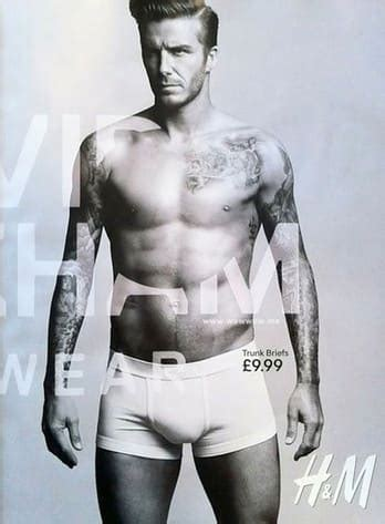 David Beckhams Armani Ad Revealed by David Beckham H M Ad Revealed The