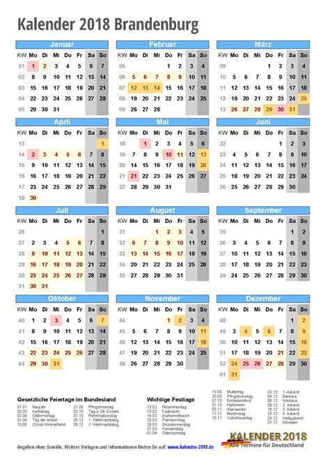 Kalender 2015 Druckversion Kalender 2018 Brandenburg Zum Ausdrucken 171 Kalender 2018