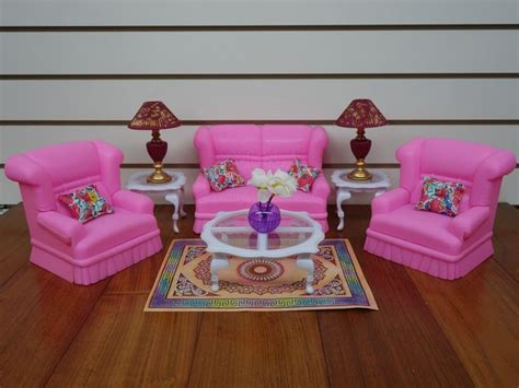 gloria barbie doll house furniture 94014 living room gloria barbie doll house furniture 9704 my fancy life