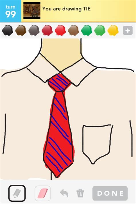 tie drawings how to draw tie in draw something the