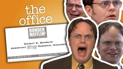 Assistant To The Regional Manager dwight schrute assistant to the regional manager the