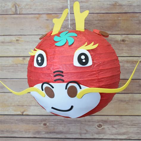 Craft Paper Lantern - kid craft project paper lantern animal diy kit