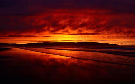 sunset  redbeach decemberthursday