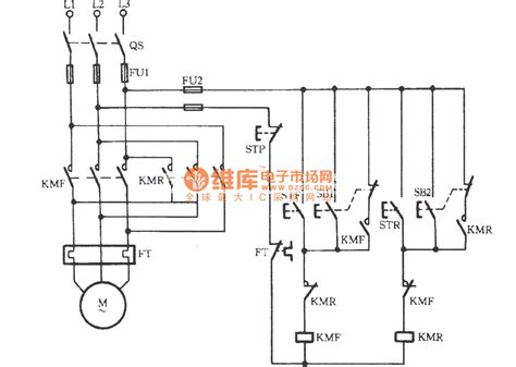pin contactor wiring three phase on