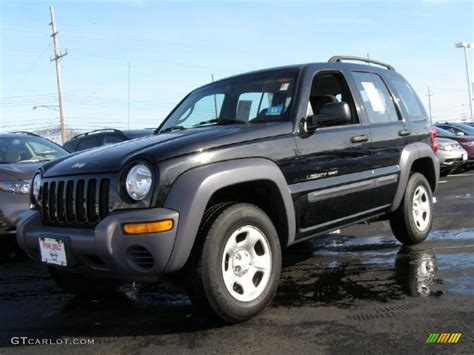 black jeep liberty 2002 black jeep liberty sport 4x4 42188583 gtcarlot com