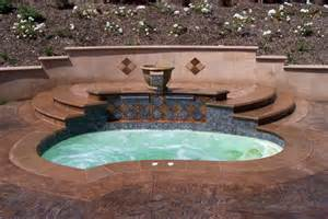 in ground bathtub inground spa and tub gallery hottubworks spa