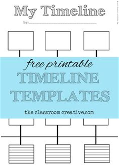 free blank timelines templates free blank history