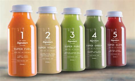 Juice Detox Diet Uk by Eleven Juice Cleanse Groupon Goods