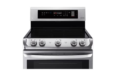induction cooking vs convection lg 6 3 cu ft electric range with probake convection lre4211st