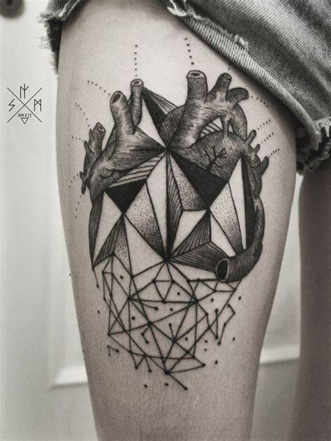 astounding cubism tattoos