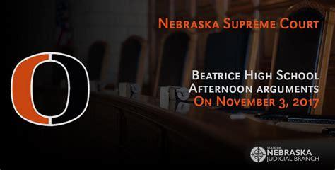 Nebraska Justice Search Nebraska Judicial Branch