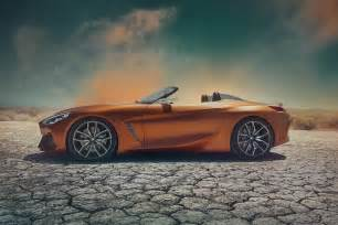 Concept Bmw Bmw Z4 Roadster Concept Leaks Ahead Of Monterey Debut