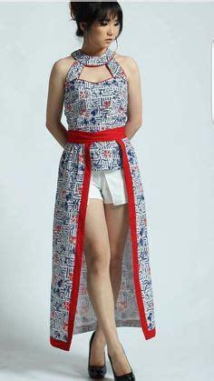Batik Tangan Buntung setelan baju kebaya lengan buntung dan rok pendek wanita