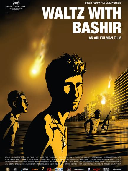 waltz with bashir war documentary meets israeli animation filmreview waltz with bashir contemporary psychotherapy