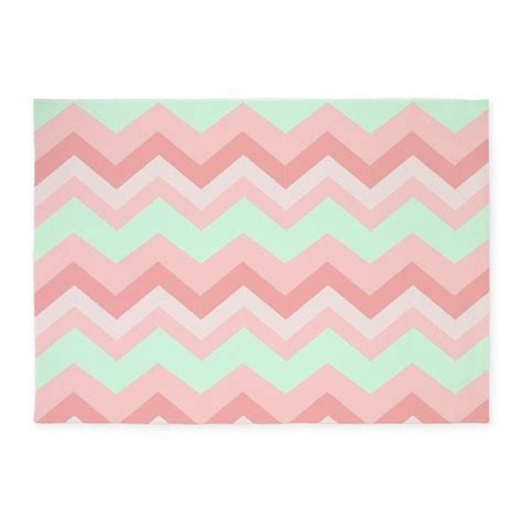 Pink Chevron Rugs by Mint Pink Chevron 5 X7 Area Rug By Admin Cp62325139