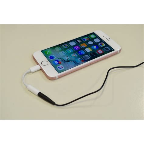 Iphone 7 7 Plus Lightning To 35mm Converter Gadgetgum apple iphone 7 7 plus lightning to 3 5mm aux headphone audio adapter from category