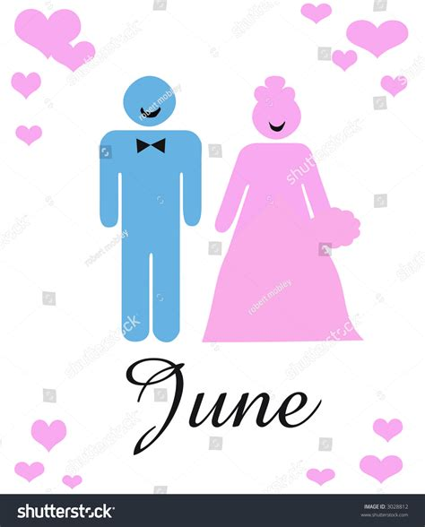 Wedding Announcement By And Groom by June Wedding Announcement Abstract Groom Stock
