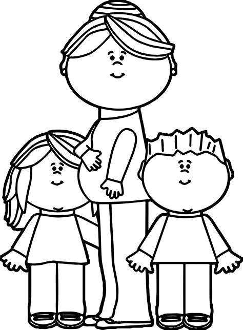 coloring pages with mom mom coloring pages coloringsuite com