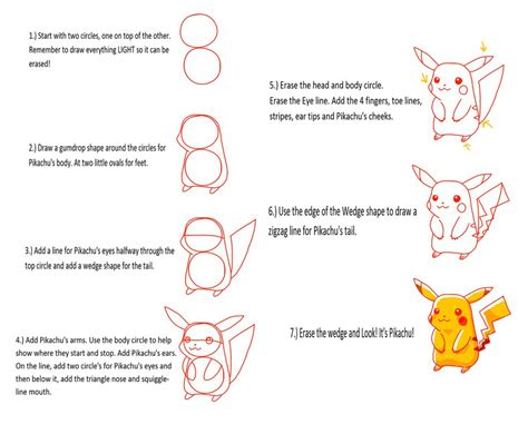 How To Search For On Deviantart How To Draw Pikachu How To Draw Pikachu Imgur Drawings Inspiration