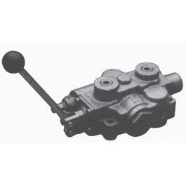 prince monoblock valve motor spool 4way/3pos, friction