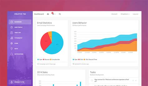 dashboard bootstrap template 26 best free html5 bootstrap admin dashboard templates