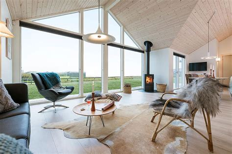 danish design house exquisite summer house with danish design by skanlux