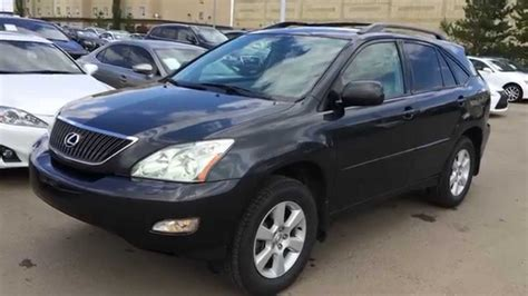 lexus rx 2004 pre owned grey 2004 lexus rx 330 awd walk around review
