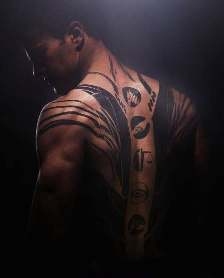 dauntless tattoo the tattoos of divergent explained