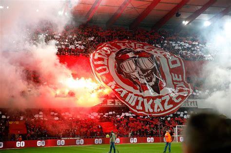 standard de liege ultras inferno banner clasico in belgium standard de