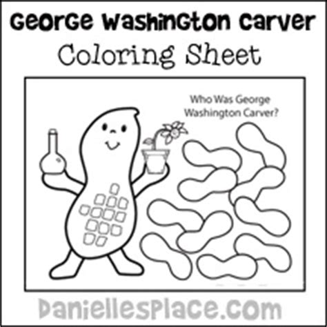 george washington carver crafts and learning activities