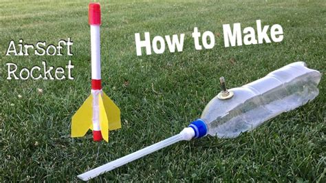 Make Paper Rocket - how to make a paper rocket simple airsoft rocket