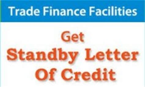 Standby Letter Of Credit Project Finance Are There Insurance Alternatives To Standby Lc Facilities Trade Financing Matters