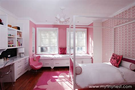 big girl bedroom ideas design reveal urban pretty in pink