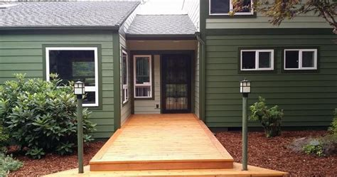 exterior paint consultant finished house painting project eugene