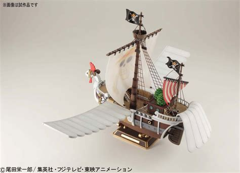 Kapal One Model Kit Going Merry Luffy Zoro Robin Figure amiami character hobby shop one going merry 1