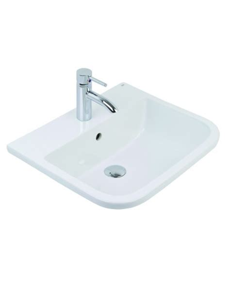 Inset Vanity Basins by Rak Series 600 Inset Vanity Basin 50cm