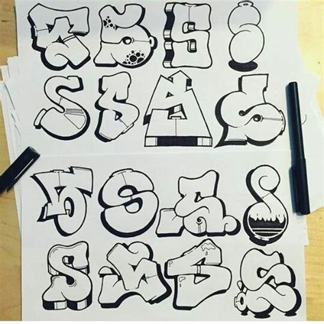 lettere stile graffiti best 25 graffiti alphabet ideas on graffiti