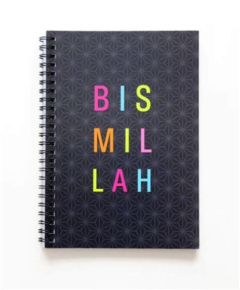 Kode Nb01 bismillah notebook islamic stationery