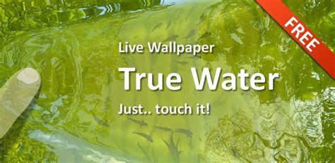 true water live wallpaper 1 0 3 apk - True Water Live Wallpaper Apk