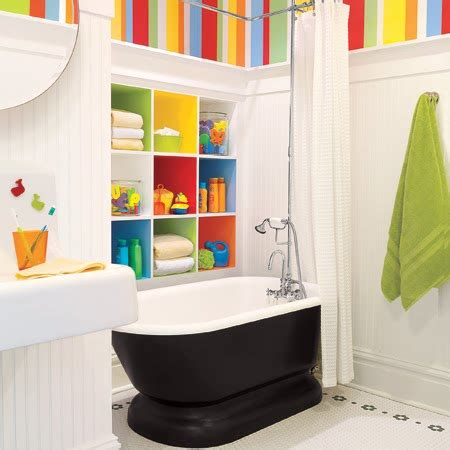 Bathroom Decor Ideas 10 Cute Kids Bathroom Decorating Ideas Digsdigs