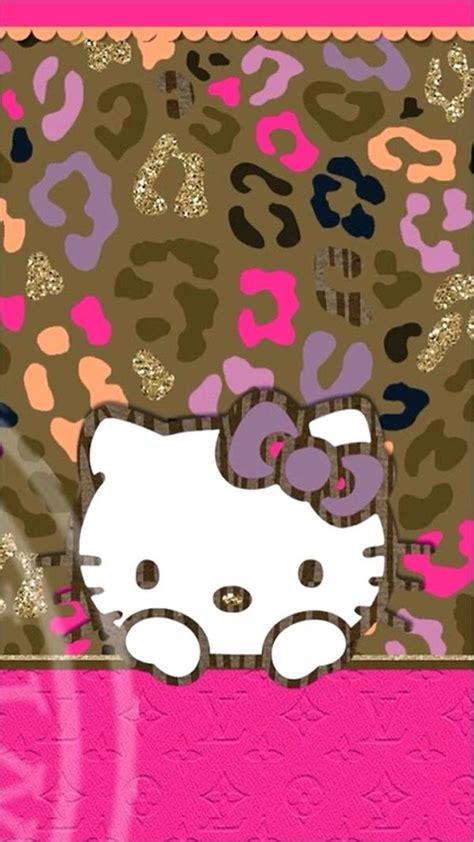 hello kitty leopard wallpaper for android 17 best images about girly wallpapers on pinterest