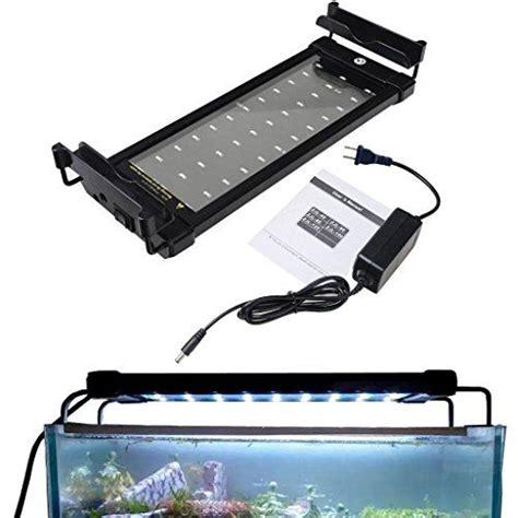 Mingdak Led Aquarium Light Fixture Fish Tank Hood Lights Fish Tank Light Fixtures