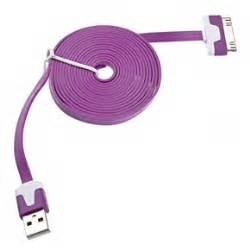 Taffware Normal Braided Charging Sync Data Cable Iphone 30 Pin 4 1m taffware flat noodle charging sync data cable for iphone 4 4s 1m purple jakartanotebook