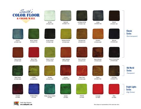 np1 color chart k l np1 color chart color charts deco crete supply ayucar