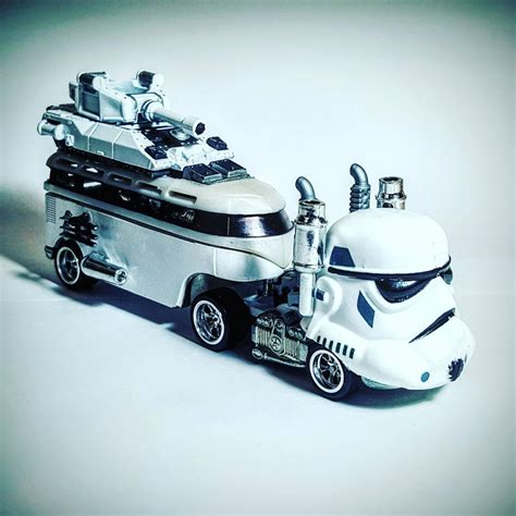 Hotwheels Custom Vw Hauler volkswagen trawler my custom hotwheels diecast cars